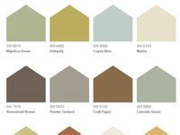 Sherwin Williams Outer Banks paint color whole house ideas rustic refined hgtv