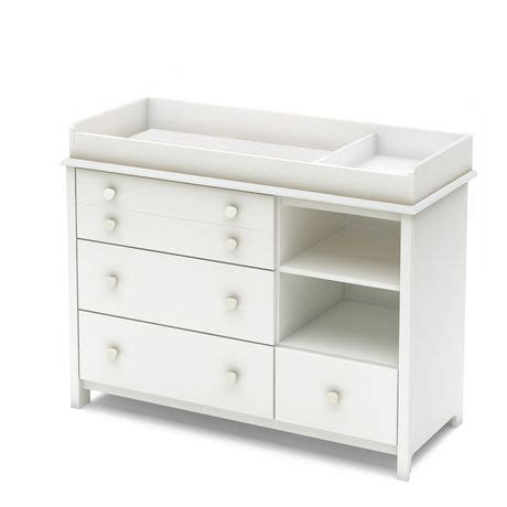Changing Table With Drawers And Shelves South Shore Smileys Changing Table And Shelving Unit With Drawers Walmart Ca