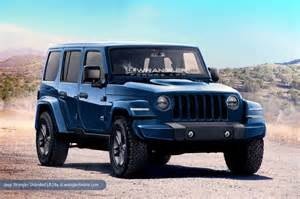 2018 jeep wrangler redesign release date diesel