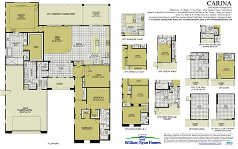 william homes floor plans william homes floor plans the sanibel floor plans
