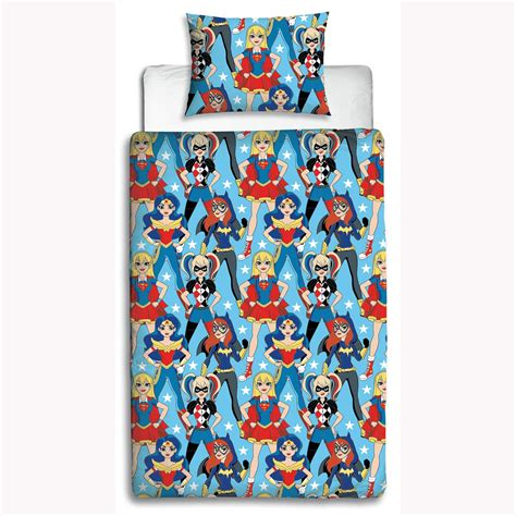 harley quinn bed sheets dc super hero girls duvet cover set wonder woman harley