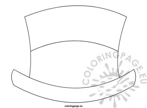 top hat wand coloring page coloring pages