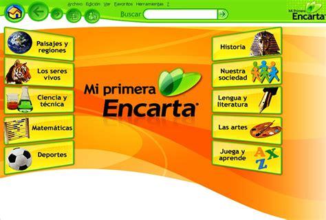 Microsoft Encarta descargar microsoft encarta 2009 mega