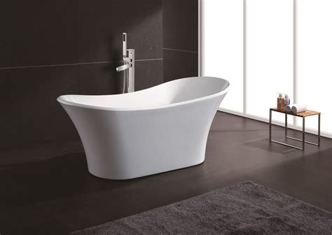 Acrylic Tub 71 Quot Soaking Bathtub Acrylic White Pedestal Bath Tub