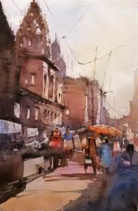 watercolor art online varanasi paintings