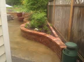 garden brick planter designs home decorating ideas