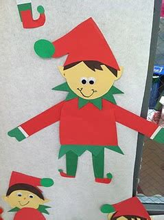 pattern craft kindergarten elf pattern perfect for elf on the shelf a