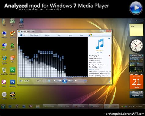 themes for windows 7 media player analyzed mod for windows 7 wmp by archangelx2 on deviantart