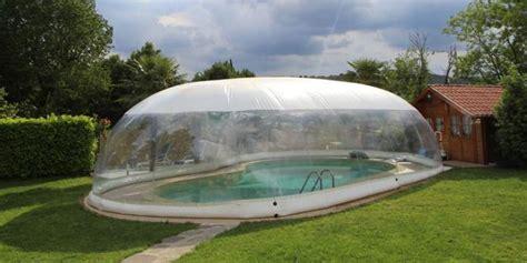 piscina smontabile da giardino come funziona una copertura gonfiabile per piscina