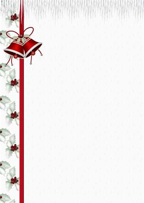 a4 christmas theme free stationery pg 1