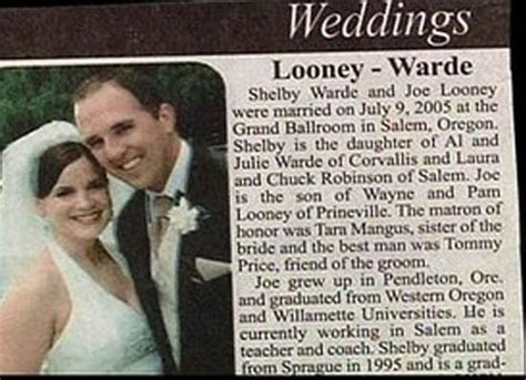 Wedding Announcement Wording For Newspaper by Wedding Pics That Ll Make Smile Or Shake Your