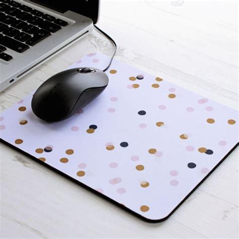 full desk mouse mat confetti rectangle mouse pad mouse mat desk polka dot