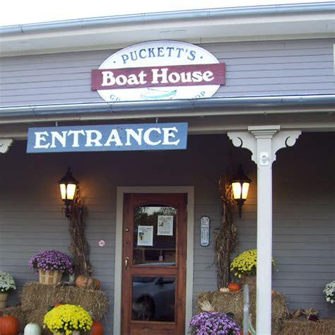 pucketts boat house history puckett s