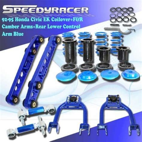Lower Arm Honda Civic Genio 1992 1995 1992 1995 honda civic acura coilover f r adj camber kit rear lower arm