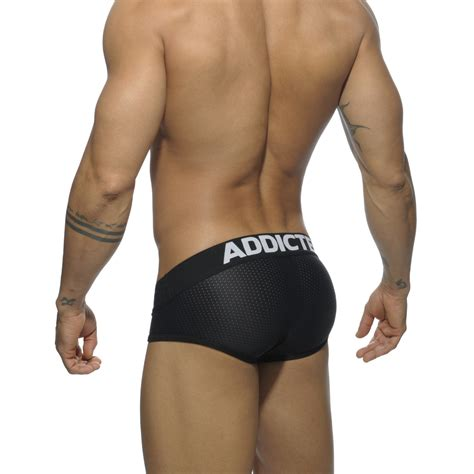 black underwear addicted mesh brief push up black briefs menssecret ch
