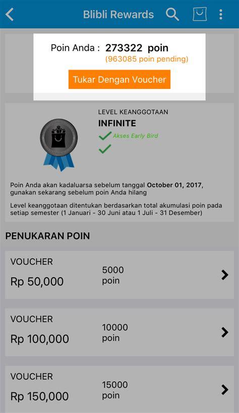 Blibli Reward | blibli com rewards pusat bantuan