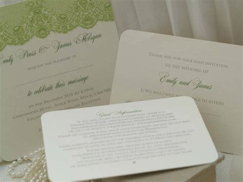 not on the high lace wedding invitations antique lace design wedding invitations by beautiful day notonthehighstreet