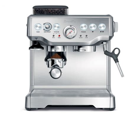 breville bes860xl barista express espresso machine with grinder the best semi automatic pump