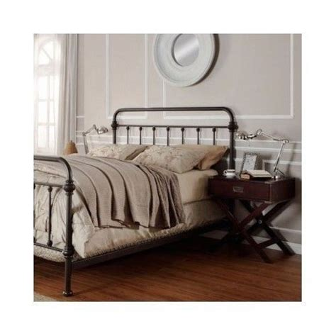 metal bed frame headboard and footboard queen metal bed frame headboard footboard wrought iron