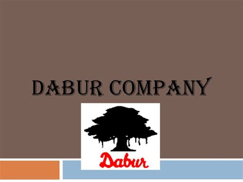 Mba Ppt On Advertising by Dabur Company Ppt Mba Marketing