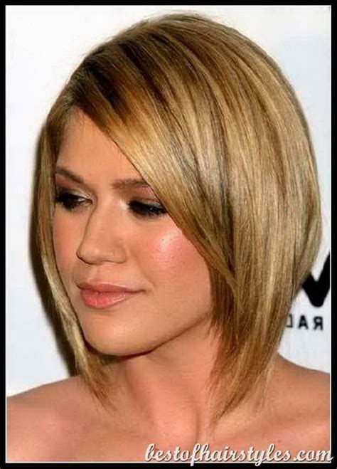 medium length hairstyles for thick hair and round faces medium haircuts for thick hair