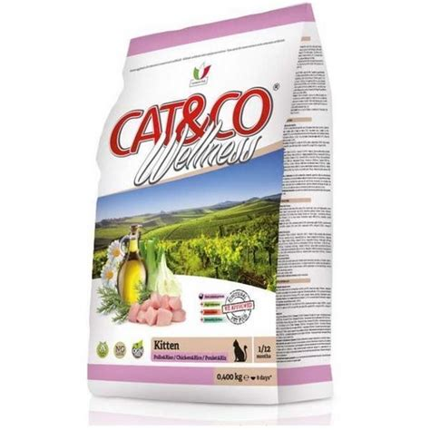 Cat Co Wellness Kitten 15kg cat co wellness kitten pollo riso сухой корм для котят с цыпленком и рисом зоо100