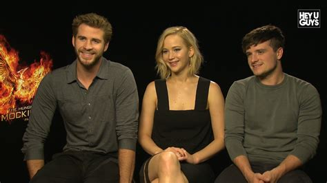 Jennifer Lawrence Interview - The Hunger Games: Mockingjay ... Liam Hemsworth The Hunger Games Character
