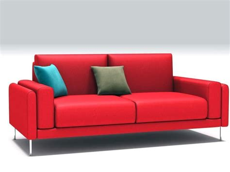 sofa links link sofa 3d model obj 3ds c4d cgtrader