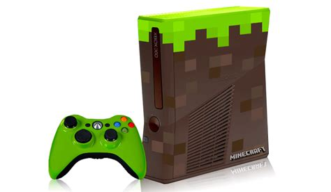 Xbox 360 Sweepstakes - win a minecraft themed xbox 360 at minecon
