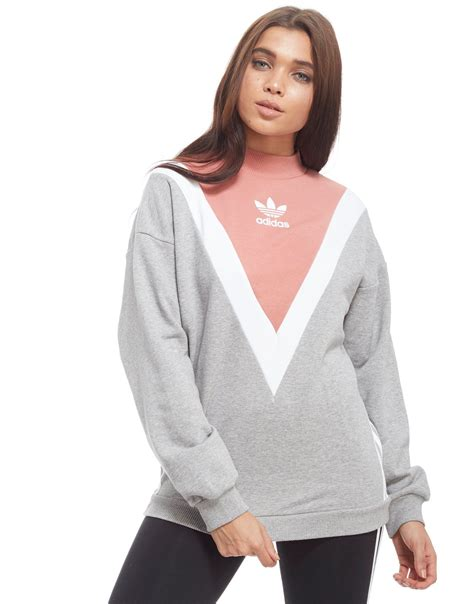 Sweater Adidas 3 Colors adidas originals chevron sweatshirt jd sports
