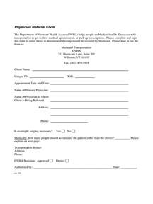 medical referral form 2 free templates in pdf word