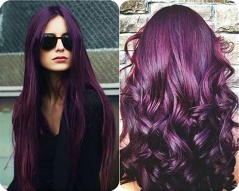what to dye your hair when its black how to dye your hair the best purple time shafdes