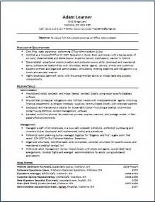 Functional Format Resume Exle by Functional The Working Centre