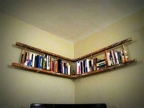 Ladder Book Shelf by David Dangerous Ladder Shelf