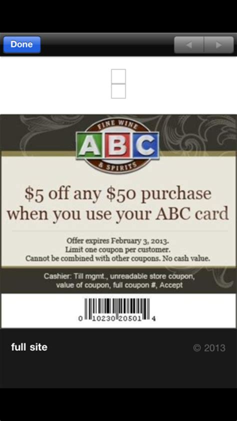 Abc Gift Cards Coupon - alcohol coupon hair coloring coupons