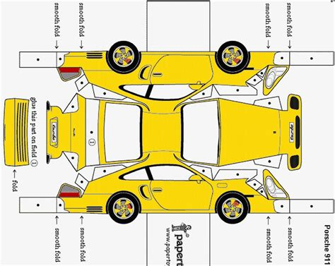 How To Make Paper Models - paper model rennlist porsche discussion forums