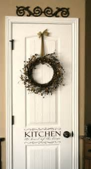 pantry door the wreath decorating ideas