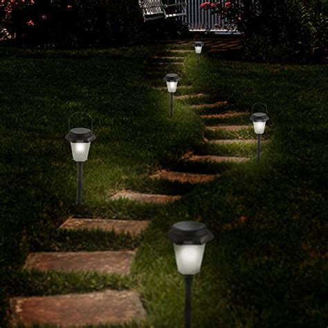 hanging solar garden lights 6 x hanging solar garden light hexagon solar lights