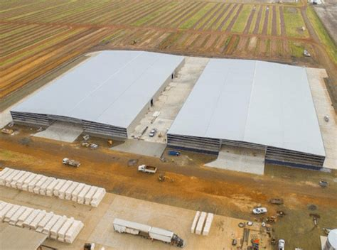 queensland cotton dalby gin storage sheds metroll