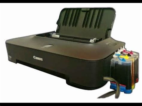 Printer Canon Ip2770 Series how to install ink tank external for printer canon series