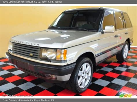 white and gold range 2000 land rover range rover 4 0 se in white gold photo no