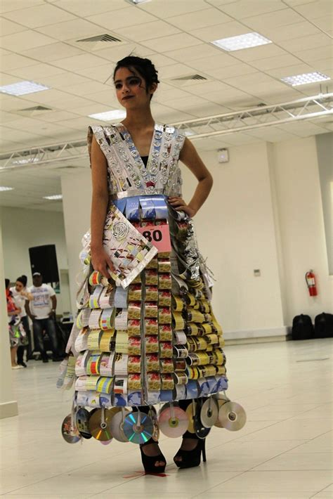 dress design using recycled materials winners of recycling design in qatar featured on world