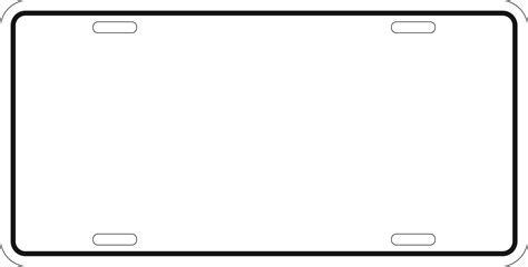 Car Plate Frames Sh3 Me License Plate Frame Template