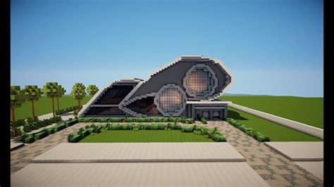casa futurista minecraft casa futurista download youtube