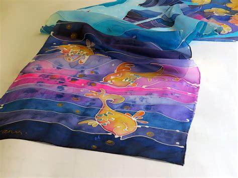 How To Make A Handmade Scarf - my handmade silk scarf galatate