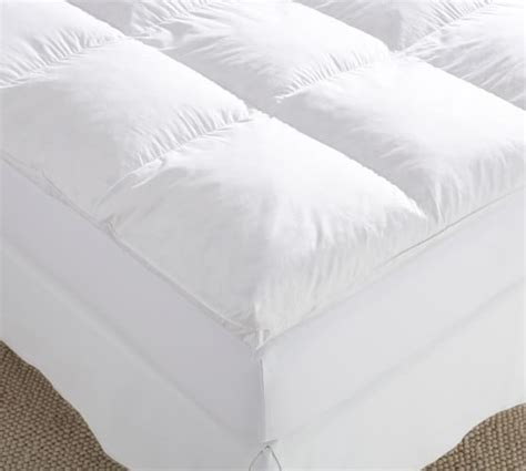 5 inch down pillow top feather bed 5 inch pillow top feather bed super snooze 5 inch 230