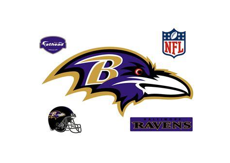 Baltimore Ravens Home Decor by Baltimore Ravens Logo Wall Decal Shop Fathead 174 For