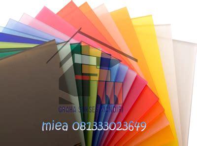 Acrylic Per Lembar jual acrylic di surabaya jual murah harga pabrik dari graha sukses mandiri