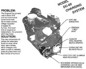 mercruiser 470 replacement charging system