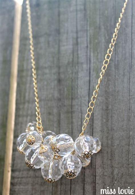 diy beaded jewelry tutorials baubles and bead caps necklace diy diy necklace bead